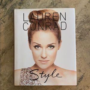 Lauren Conrad hardcover coffee table style book